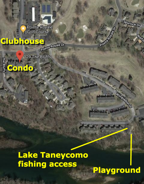 Lake Taneycomo and Playground